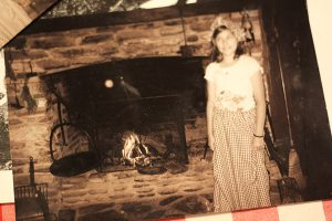 An orb captured in The Thomas House and is believed to be the ghost of young Rebecca.