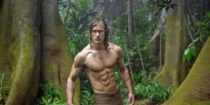 Alexander Skarsgård as Tarzan in the 2016 remake.