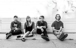 From left to right: Chris Anthony, Melanie St-Pierre, Neil Bednis and Fraser McLean of Casper Skulls. (Photo By: Chris Borges)
