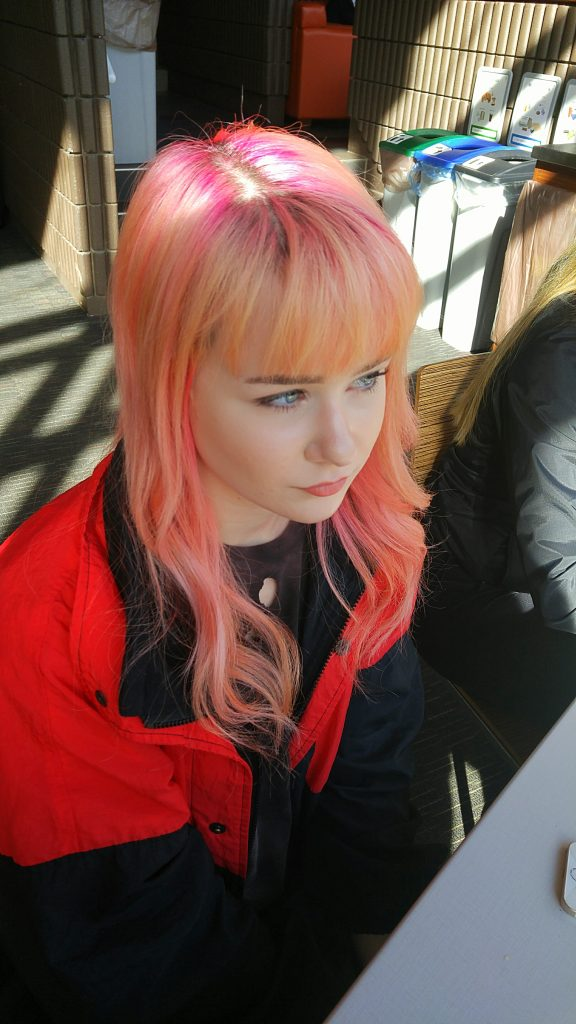 Nicole MacDonald, high school student