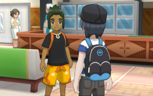 The games introduce new characters, including your rival Hau (Photo: The Pokemon Company International)