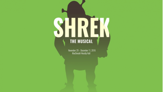 "Sheridan Theatre's ""Shrek: The Musical"" courtesy of Sheridan College"