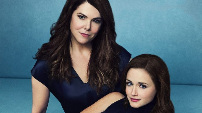 Lauren Graham and Alexis Bledel. Photo courtesy of ET Canada.
