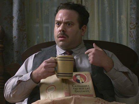 Dan Fogler as Jacob Kowalski (Courtesy of Warner Bros Studios)
